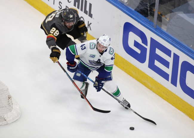 Vegas Golden Knights vs. Vancouver Canucks - 8/25/20 NHL Pick, Odds, and Prediction