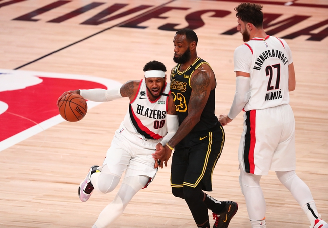 Los Angeles Lakers Vs Portland Trail Blazers 8 29 20 Nba Pick Odds And Prediction Sports Chat Place
