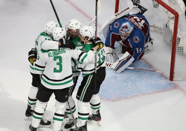 Colorado Avalanche at Dallas Stars - 8/26/20 NHL Picks and Prediction