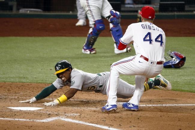 Texas Rangers vs. Oakland Athletics - 8/26/20 MLB Pick, Odds, and Prediction