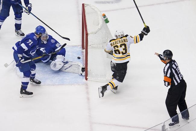Tampa Bay Lightning at Boston Bruins - 8/26/20 NHL Picks and Prediction