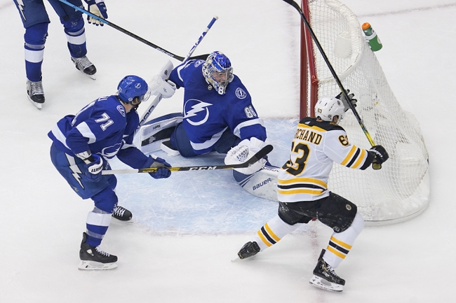 Boston Bruins vs. Tampa Bay Lightning - 8/26/20 NHL Pick, Odds, and Prediction