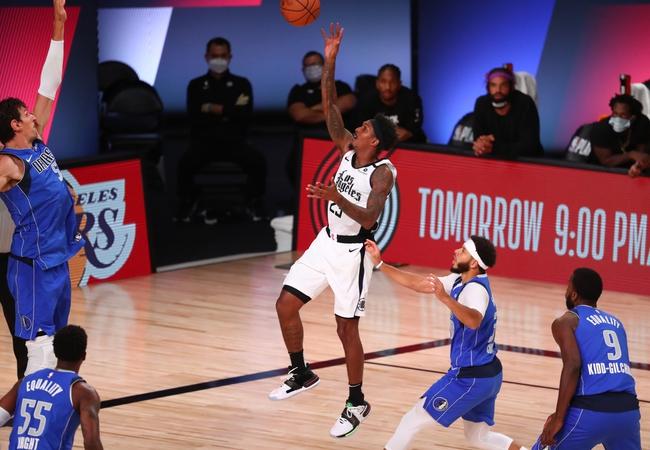 Tony T's Clippers vs. Mavericks ATS SIDE 8-27-2020