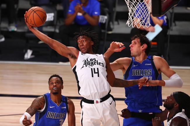 Los Angeles Clippers at Dallas Mavericks - 8/30/20 NBA Picks and Prediction