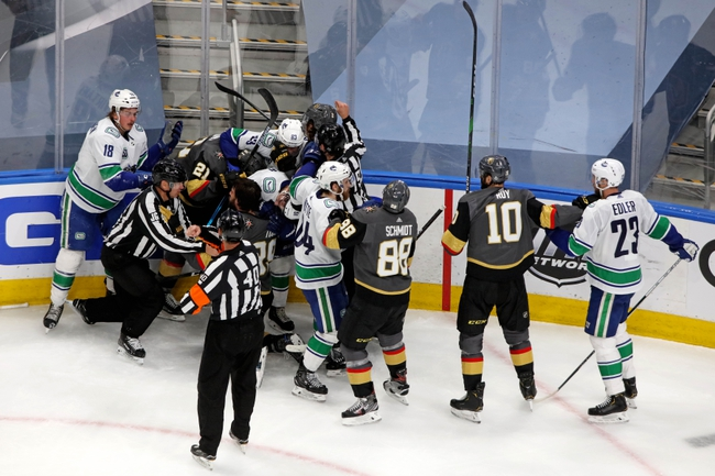 Vegas Golden Knights at Vancouver Canucks - 8/29/20 NHL Picks and Prediction