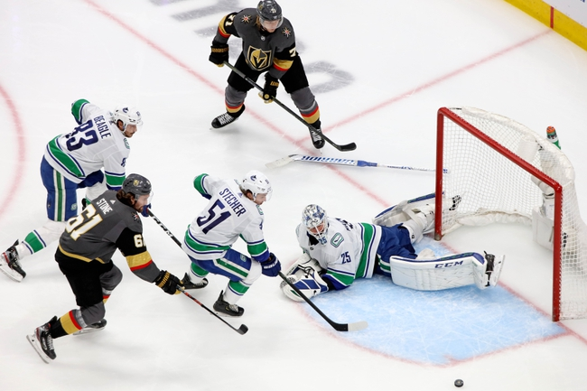 Vancouver Canucks vs. Vegas Golden Knights - 8/29/20 NHL Pick, Odds, and Prediction