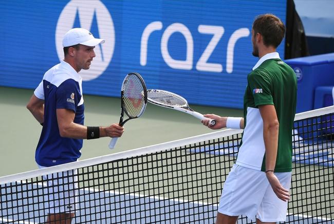 Federico Delbonis vs. Daniil Medvedev - 9/1/20 US Open Tennis Pick, Odds, and Prediction
