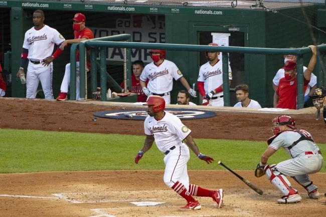 Philadelphia Phillies vs. Washington Nationals - 8/31/20 MLB Pick, Odds, and Prediction