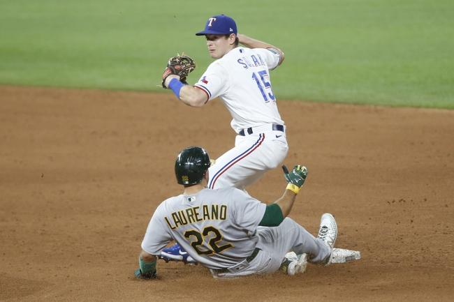 Oakland Athletics at Texas Rangers - 9/11/20 MLB Picks and Prediction
