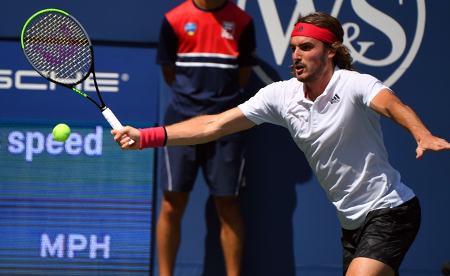 Stefanos Tsitsipas vs. Maxime Cressy 9/2/20 US Open Tennis Pick, Odds, and Prediction