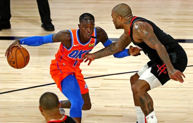 Oklahoma City Thunder vs. Houston Rockets - 8/31/20 NBA Pick, Odds, and Prediction