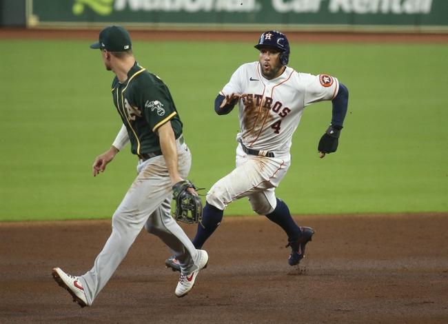 Houston Astros at Oakland Athletics - 9/7/20 MLB Picks and Prediction