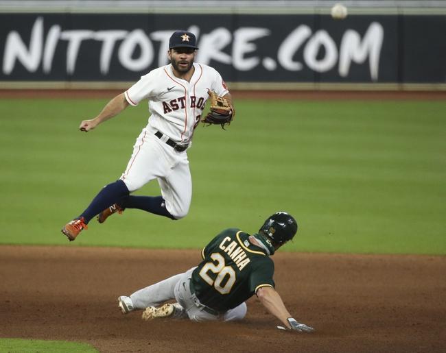 Houston Astros vs. Oakland Athletics - 8/30/20 MLB Pick, Odds, and Prediction