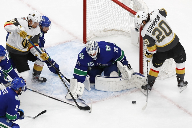 Vegas Golden Knights at Vancouver Canucks - 8/30/20 NHL Picks and Prediction