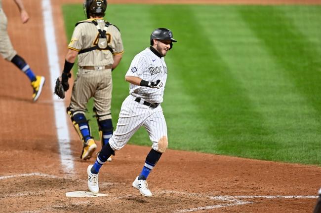 Colorado Rockies vs. San Diego Padres - 8/30/20 MLB Pick, Odds, and Prediction