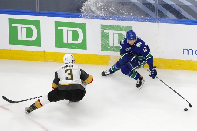 Vancouver Canucks vs. Vegas Golden Knights - 8/30/20 NHL Pick, Odds, and Prediction