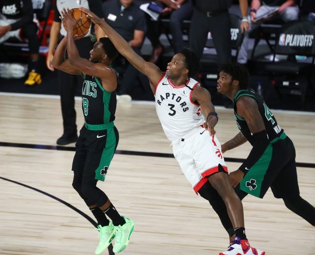 Boston Celtics at Toronto Raptors - 9/1/20 NBA Picks and Prediction