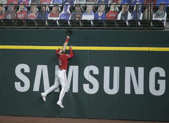 Texas Rangers at Houston Astros - 9/1/20 MLB Picks and Prediction