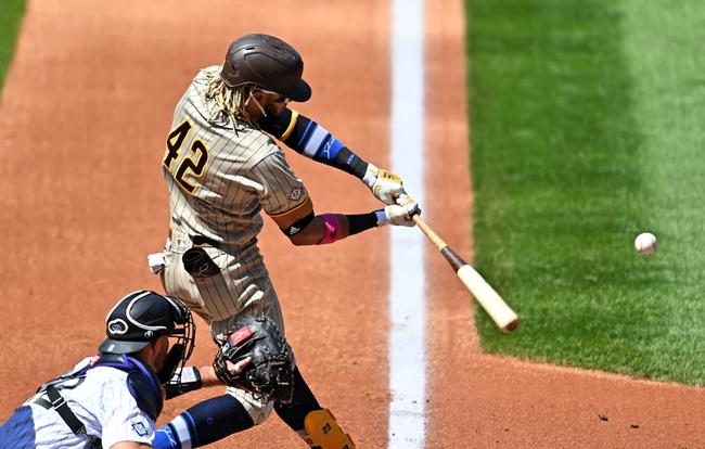 San Diego Padres at Colorado Rockies - 8/31/20 MLB Picks and Prediction