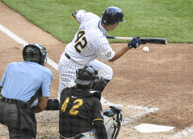 Milwaukee Brewers vs. Pittsburgh Pirates - 8/31/20 MLB Pick, Odds, and Prediction