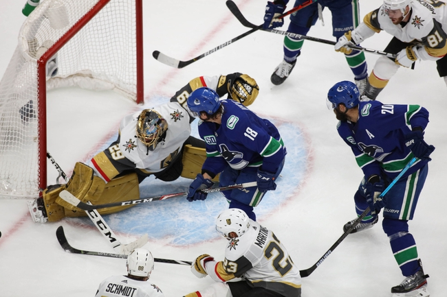 Vegas Golden Knights vs. Vancouver Canucks - 9/1/20 NHL Pick, Odds, and Prediction