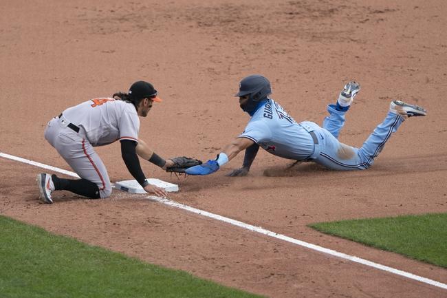 Baltimore Orioles at Toronto Blue Jays - 9/25/20 MLB Pick and Prediction