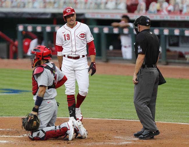 Dana Lane's MLB St. Louis Cardinals vs. Cincinnati Reds 'Table Setter'