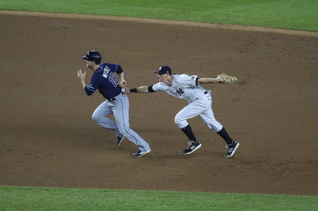 New York Yankees vs. Tampa Bay Rays - 9/1/20 MLB Pick, Odds, and Prediction