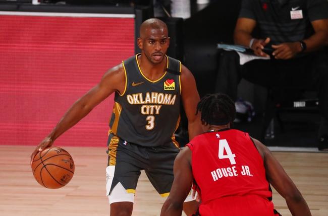 Houston Rockets vs. Oklahoma City Thunder - 9/2/20 NBA Pick, Odds, and Prediction