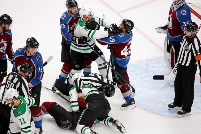 Colorado Avalanche at Dallas Stars - 9/2/20 NHL Picks and Prediction