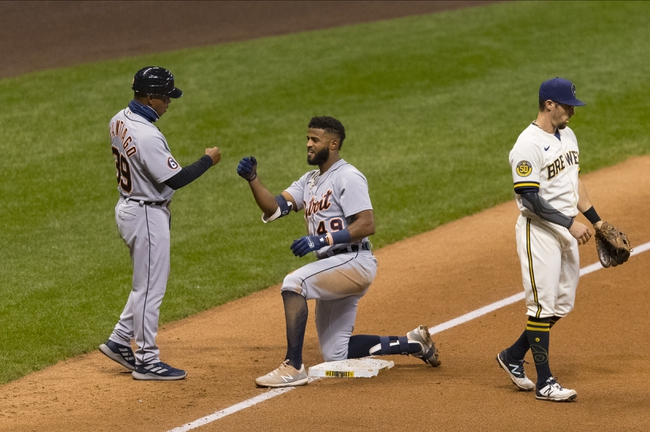 Milwaukee Brewers vs. Detroit Tigers - 9/2/20 MLB Pick, Odds, and Prediction
