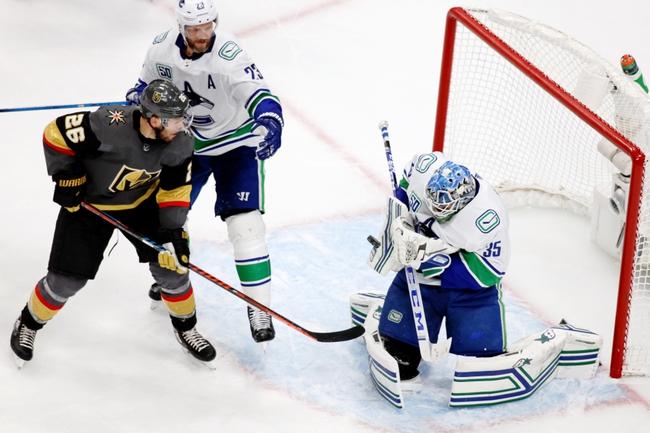 Vegas Golden Knights at Vancouver Canucks - 9/3/20 NHL Picks and Prediction