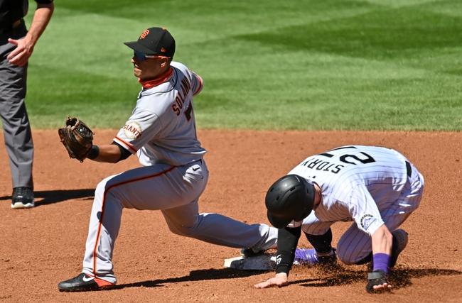 Colorado Rockies at San Francisco Giants - 9/21/20 MLB Picks and Prediction