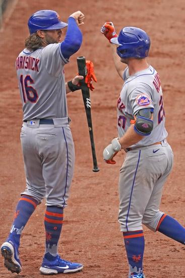 Dana Lane's Baltimore Orioles vs. New York Mets 'Table Setter'