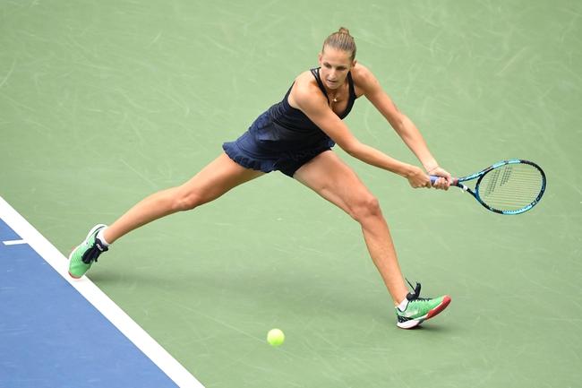 Ostrava Open WTA: Karolina Pliskova vs. Viktoria Kudermetova 10/22/20 Tennis Prediction