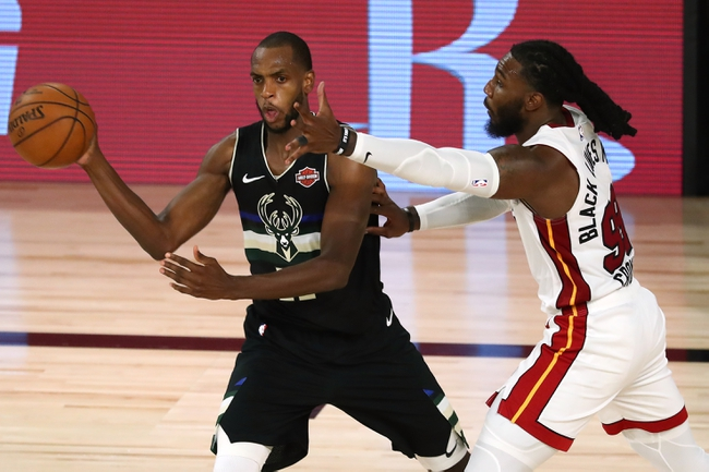 Miami Heat vs. Milwaukee Bucks - 9/4/20 NBA Pick, Odds, and Prediction