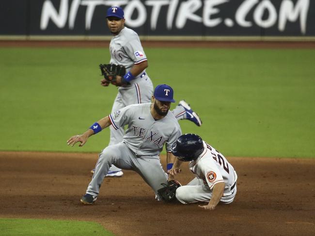 Houston Astros vs. Texas Rangers - 9/3/20 MLB Pick, Odds, and Prediction