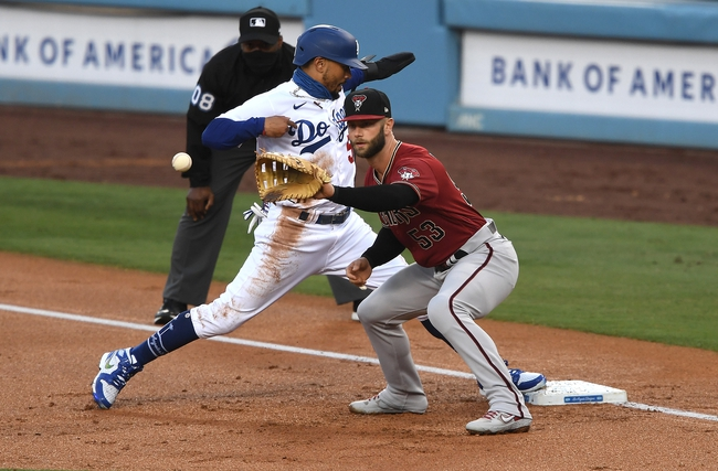 Arizona Diamondbacks at Los Angeles Dodgers - 9/3/20 MLB Picks and Prediction