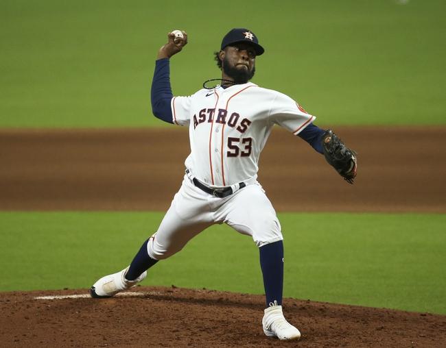 Texas Rangers at Houston Astros - 9/3/20 MLB Picks and Prediction