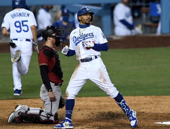 Los Angeles Dodgers vs. Arizona Diamondbacks - 9/3/20 MLB Pick, Odds, and Prediction