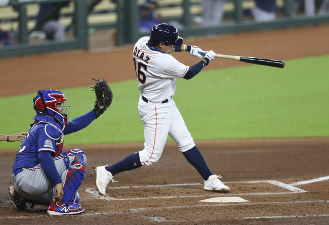 Texas Rangers at Houston Astros - 9/15/20 MLB Picks and Prediction