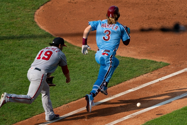 Philadelphia Phillies at Washington Nationals - 9/21/20 MLB Picks and Prediction
