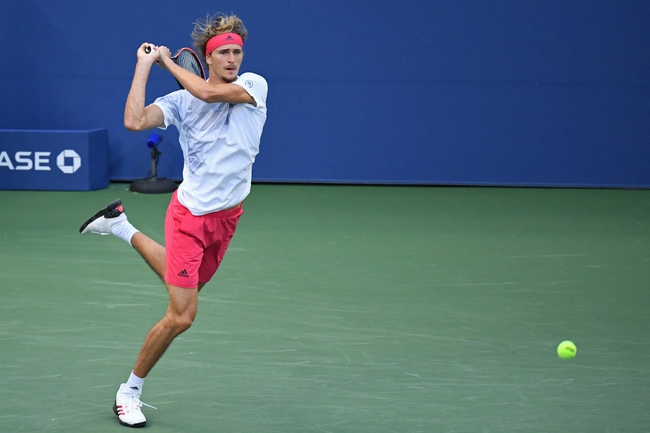 Alexander Zverev vs. Borna Coric 9/8/20 US Open Tennis Pick, Odds, and Prediction