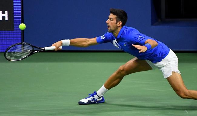 Novak Djokovic vs. Filip Krajinovic - 9/18/20 Rome Open Tennis Picks, Odds, and Predictions