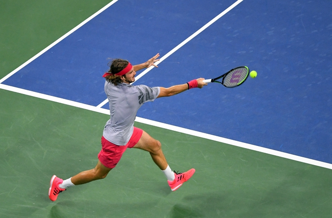 Stefanos Tsitsipas vs. Dusan Lajovic 9/25/20 Hamburg Open Tennis Pick, Odds, and Prediction