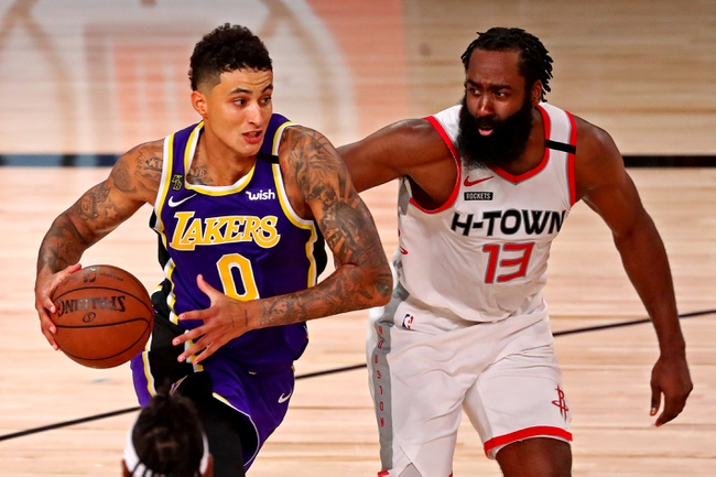 Los Angeles Lakers vs. Houston Rockets - 9/6/20 NBA Pick ...