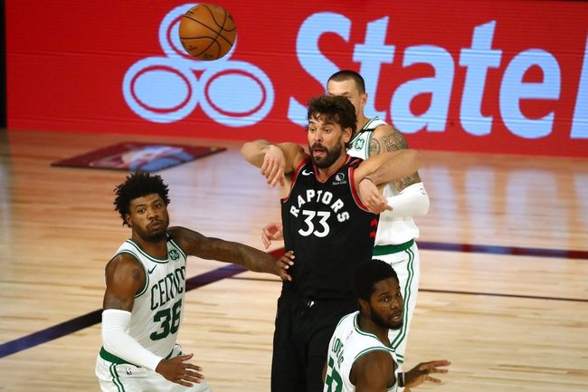 Boston Celtics at Toronto Raptors - 9/7/20 NBA Picks and Prediction