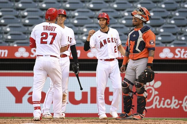 Houston Astros at Los Angeles Angels - 9/6/20 MLB Picks and Prediction