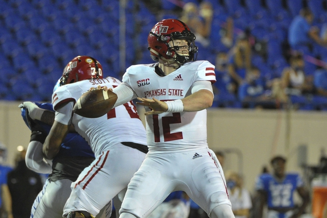 Arkansas State vs. Tulsa - 9/26/20 College Football Pick, Odds, and Prediction