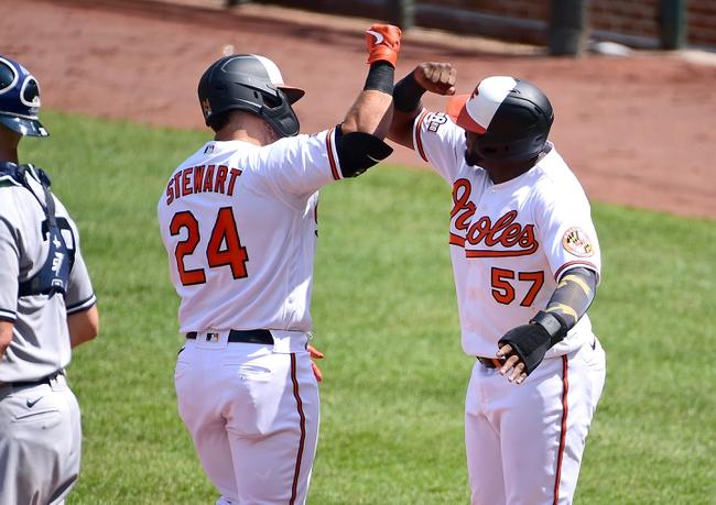 Baltimore Orioles at New York Yankees Game 1 - 9/11/20 MLB Picks and Prediction
